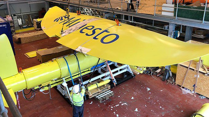 minesto tidal energy harvesting kite full size