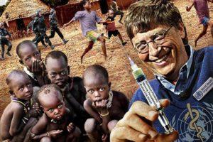 Gates Vaccines depopulation