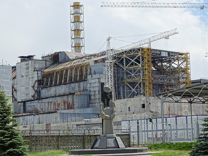Chernobyl Reactor 4 - Where Disaster Occurred in 1986
