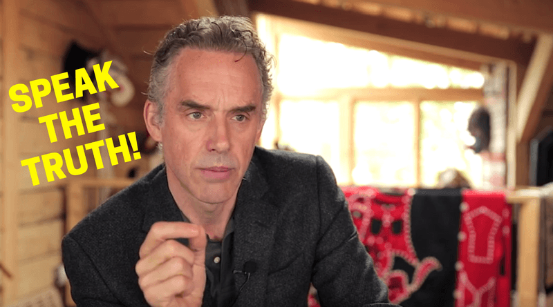 Dr. Jordan Peterson speaks the truth