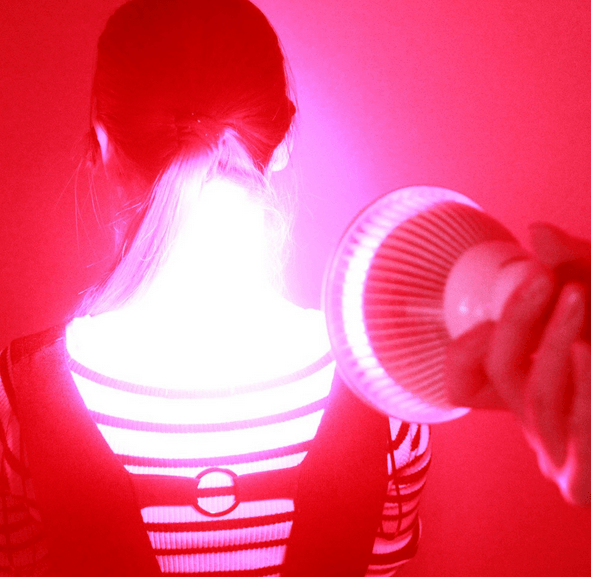 Home Red Light Therapy: Red + Near-Infrared Light Therapy Handheld Device