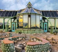Earthship housing sustainable housing alternative housing construction endalldisease