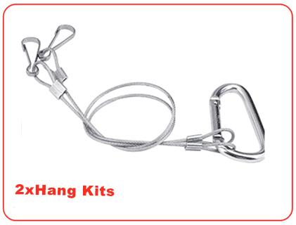 2 x hanging kits