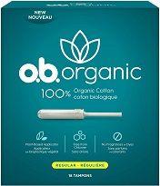 Organic Cotton Tampons