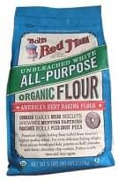 organic white flour