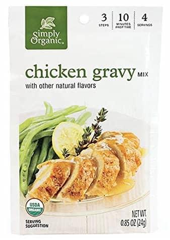 Organic Chicken Flavored Gravy