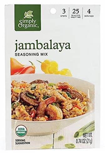 Organic Jambalaya Seasoning Mix