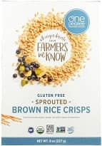 Organic Sprouted Rice Crisps